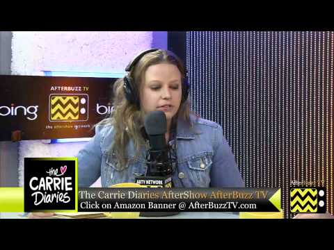 "The Carrie Diaries After Show Season 1 Episode 1 ""Pilot"" 