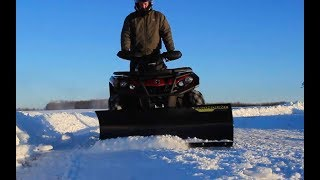 2. HOW TO: Install Can-Am's new plow