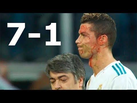 Real Madrid vs Deportivo La Coruna 7-1 All Goals & Extended Highlights La Liga (English) 21/01/2018