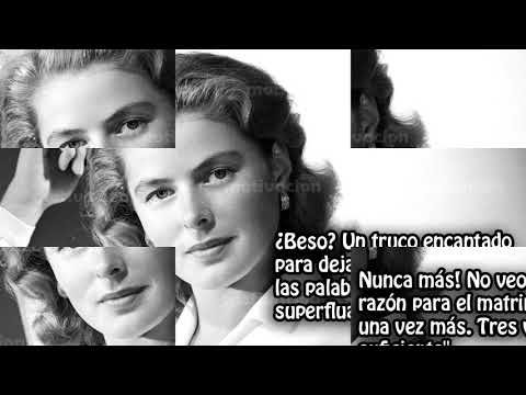10 Frases celebres de Ingrid Bergman