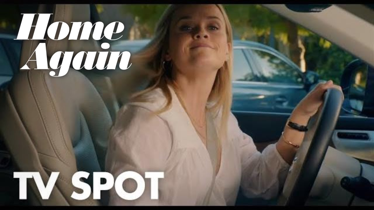 Reese Witherspoon in Romantic Comedy 'Home Again' (Clip) with Michael Sheen & Candice Bergen