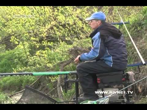 """""""Чоловічі розваги"""" на Горині! Специфіка риболовлі за допомогою штекерного вудилища на течії"""