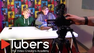 """We visit the Tubers Academy in Exeter to find out how they teach children from 7-18 how to make great videos on YouTube.Tubers Academy, a new Exeter based company, thinks it has the answer. It offers a ground breaking weekly club for young aspiring video creators who want to emulate their YouTube heroes. In their own terms, """"it's a place to learn, collaborate and have fun with likeminded people who also love creating video"""".For £79 a month 11-18 year old get 2 hours training a week as well as access to the studio on Saturday.  Visiting the premises today and talking to founders Nick Ellison and Jim Rowe it's hard not to be struck a the Aladdin's Cave of game, camera, light and audio tech on offer to members.""""It's been described as a Biker Grove of video-bloggers"""" quips Ellison but there is a serious focus on creativity rather than just entertainment here. """"We ensure that they are creating content, using SLRs, game capture and a full creative process."""" More information on the tubers.co.uk website and their Facebook (link: https://www.facebook.com/tubers.uk/ page)."""