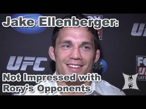 Rory macdonald - MMA H.E.A.T.'s Karyn Bryant catches up with UFC welterweight Jake Ellenberger and hears what he has to say about his upcoming fight with Rory MacDonald, whic...