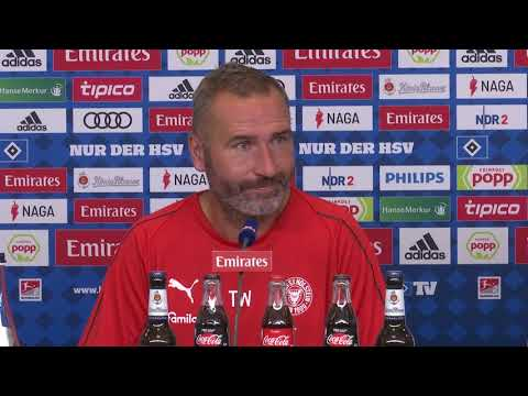 Hamburger SV - Holstein Kiel 0:3 I Pressekonferenz  ...