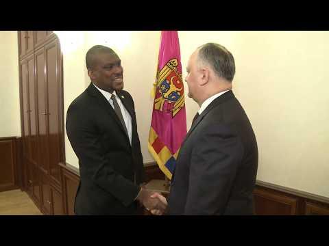 Președintele RM a avut o întrevedere cu ambasadorul SUA