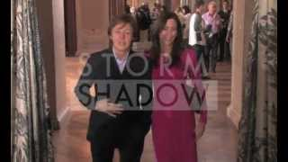 Paul McCartney And Nancy Shevell At Stella McCartney Show In Paris