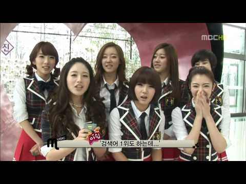 SNSD, T-ara, Kara - Bloopers on MC 100220