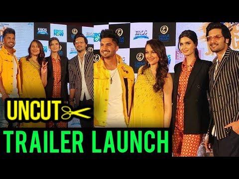 Happy Phirr Bhag Jayegi Trailer Launch | Sonakshi