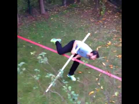 Slackline accident