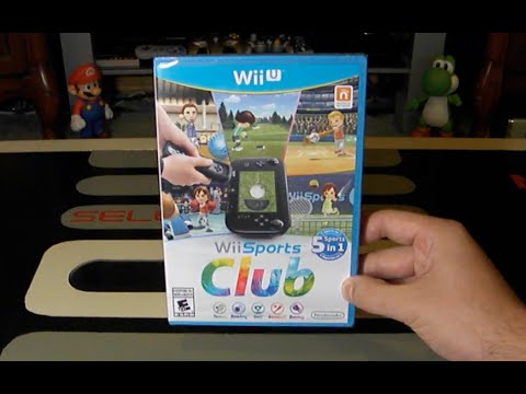 Wii U Is Awesome: Wii Sports Club