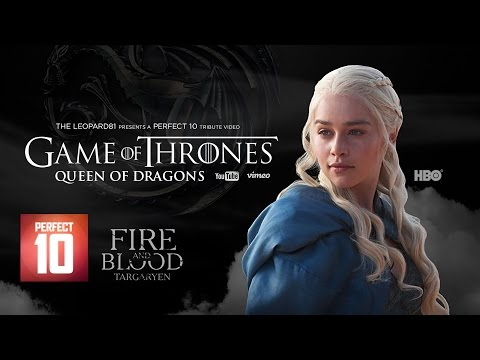 Game Of Thrones: Queen Of Dragons Tribute