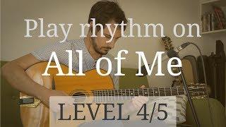 Entraînez-vous à m'accompagner sur ce solo en me suivant et en regardant la grille d'accord si nécessaire. Pour apprendre à accompagner et improviser sur ce standard : https://www.guitare-improvisation.com/video_all-of-me.phpEt les playbacks de All of Me, pour vous entraîner à accompagner en même temps : 150 bpm - https://youtu.be/3LXN9oxO-8I180 bpm - https://youtu.be/ew0zezZ7I4w210 bpm - https://youtu.be/-2Njekj-SQ0Niveau 1 // solo enregistré sur une pulsation et très marqué sur le temps, plutôt facile à suivreNiveau 2 // solo enregistré sur une pulsation et moins marqué sur le tempsNiveau 3 // solo enregistré sur une pulsation et peu marqué sur le temps, pas facile à suivre (et la grille ne défile pas)Niveau 4 // solo enregistré sans pulsation et plutôt marqué sur le temps, plutôt difficile à suivreNiveau 5 // solo enregistré sans pulsation et peu marqué sur le temps, difficile à suivreSi mes vidéos vous ont fait progresser pensez à me soutenir en faisant un don ici : https://goo.gl/B9eXzk