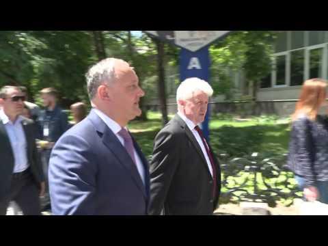Președintele țării, Igor Dodon a participat la ședința Consiliului rectorilor din Republica Moldova