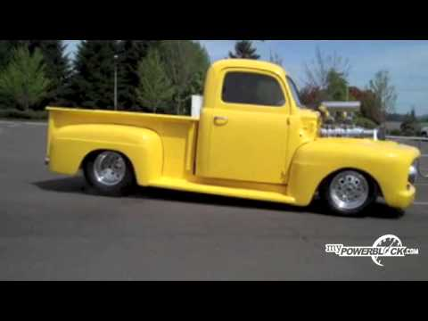 myPowerBlock: 1951 Ford Pickup Burnout