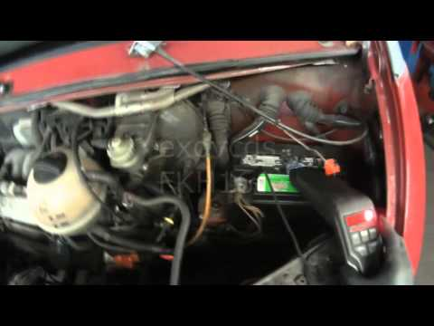 VW T4: Eurovan 2.5L Ignition Timing Basic Setting / Checking