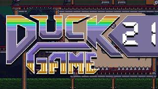 Duck Game w/ PokeaimMD & Gator THE TRUE LAG MASTER by PokeaimMD