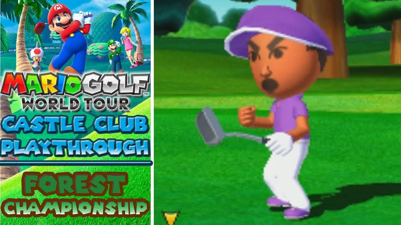 Mario Golf World Tour – Forest Course Championship (Part 3)