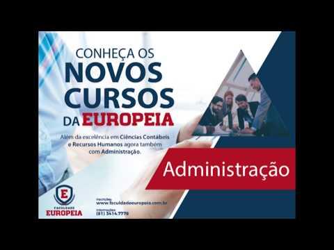 Novos Cursos Europeia Administração