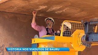 Viadutos de Bauru passam por vistoria técnica para garantir maior segurança