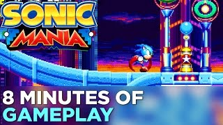 8 Minutes Of Sonic Mania