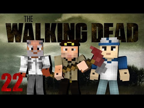 Minecraft - The Walking Dead! Episode 22 (Crafting Dead Mod)