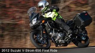 3. 2012 Suzuki V-Strom 650 First Ride - MotoUSA