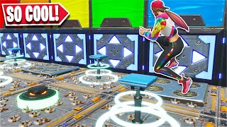 This Deathrun has AMAZING unique levels... *MUST PLAY* (Fortnite Creative)