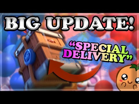 NEW Card Royal Delivery Gameplay & Season 9 Updates + Balances | New Arena + Emotes & Tower Skin 🍊