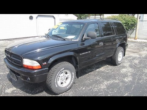 durango - In this video I give a full tour of 1999 Dodge Durango showing the exterior, engine and interior. Hello my friends and welcome to Automotive Review Channel w...