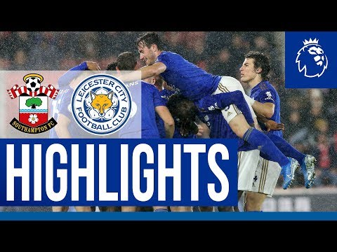 Biggest-Ever Premier League Away Win   Southampton 0 Leicester City 9