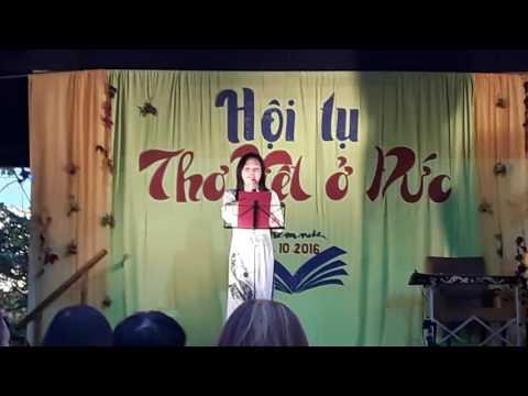 Hội tụ Thơ Việt ở Đức - Hà An đọc thơ Thế Hà (Berlin)