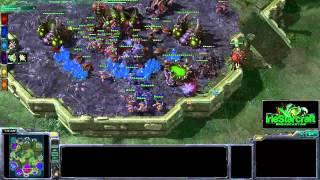 Starcraft 2 Master League Ladder Replay [IS0283] 3v3: (Z)BlueMeanie, (Z)Killaman, (Z)RainMan vs. (P)Earthmaster...