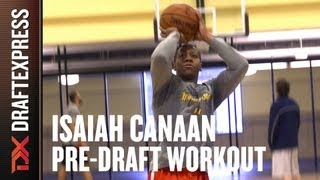 Isaiah Canaan - 2013 NBA Pre-Draft Workout & Interview