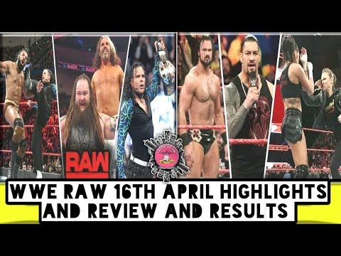 WWE Raw 16th April Highlights And Review And Results/World Wrestling Tamil
