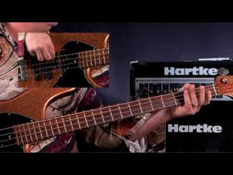 How To Play Bass Guitar – Lessons for Beginners – Straight Eigths Rock