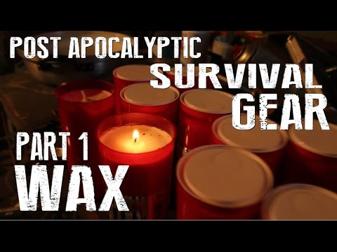 7 Ways To Use Wax In A Survival Situation - Grave Candle Prepping