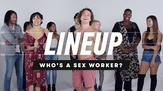Video People Guess Who's a Sex Worker from a Group of Strangers | Lineup | Cut MP3, 3GP, MP4, WEBM, AVI, FLV Maret 2019