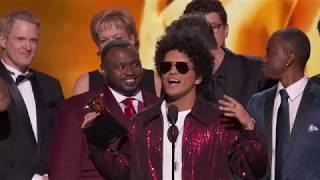 Bruno Mars Wins Album Of The Year   Acceptance Speech   60th GRAMMYs