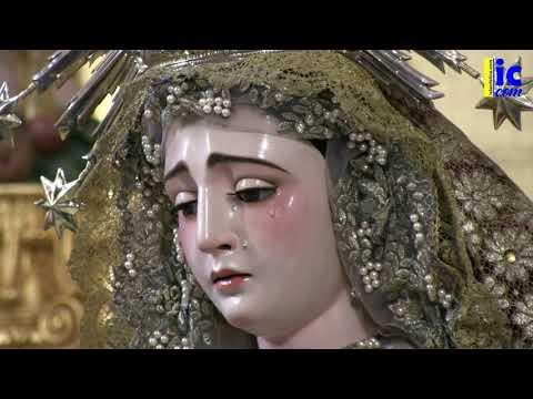Ntra. Sra. de Los Dolores de Isla Cristina ya restaurada-22 Junio 2020.