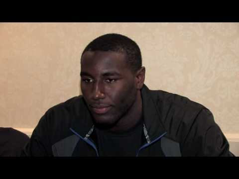 DeJuan Blair Draft Combine Interview