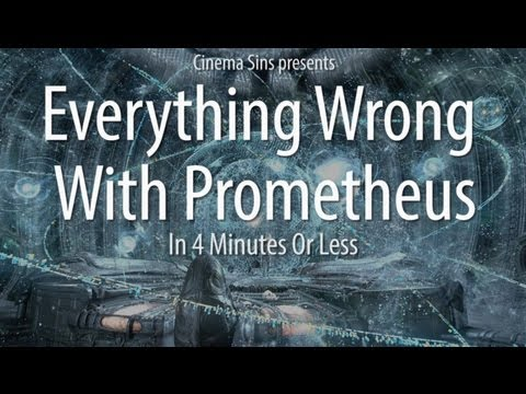 Prometheus - Do Prometheus fans exist? We certainly expect to find out. Here are all the sins we counted in Ridley Scott's Prometheus. We had to stretch our time limit to...