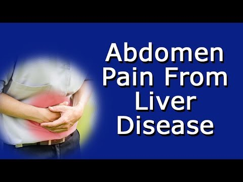 Abdomen Pain From Liver Disease - What Does Liver Pain Feel Like?