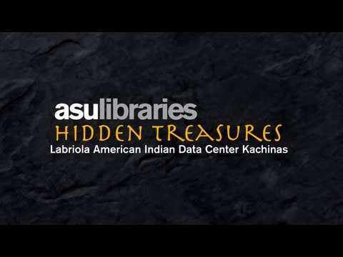 ASU Bibliotheken Hidden Treasures: Labriola Zentrum Kachina Dolls