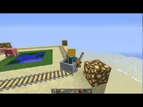 The Power of the Double Booster Rail - Minecraft (1.1)
