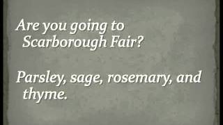 Simon & Garfunkel - Scarborough Fair (Full Version) Lyrics