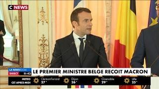 Video Le premier ministre belge reçoit Emmanuel Macron MP3, 3GP, MP4, WEBM, AVI, FLV Mei 2017