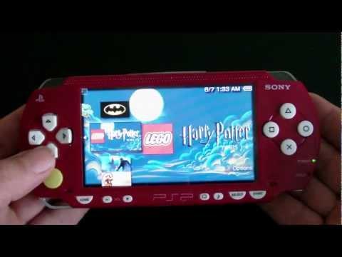 Custom Sony PSP 1000 – Mario Brothers PlayStation Portable System (MINT)