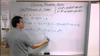 MCR Factoring Polynomials Review