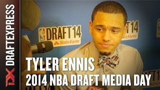 2014 Tyler Ennis Interview - DraftExpress - NBA Draft Media Day
